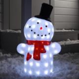 светодиодный снеговик